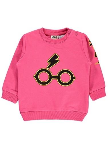 Harry Potter Sweatshirt Fuşya